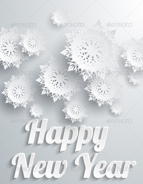 white new year backgrounds