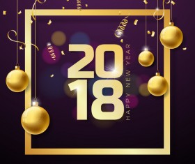 2018 page new year border