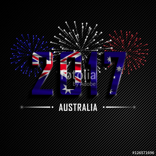 australian new year cards