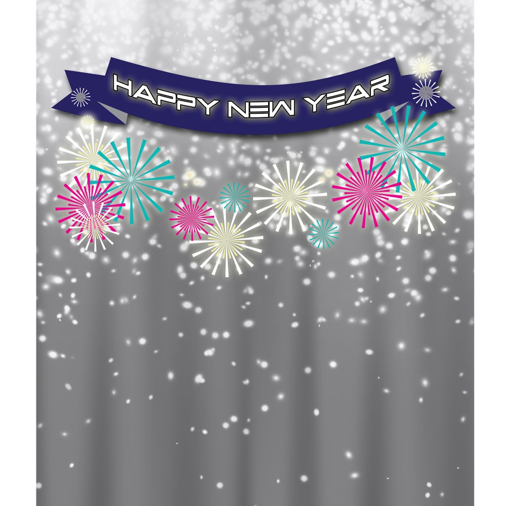 backdrop new year banner