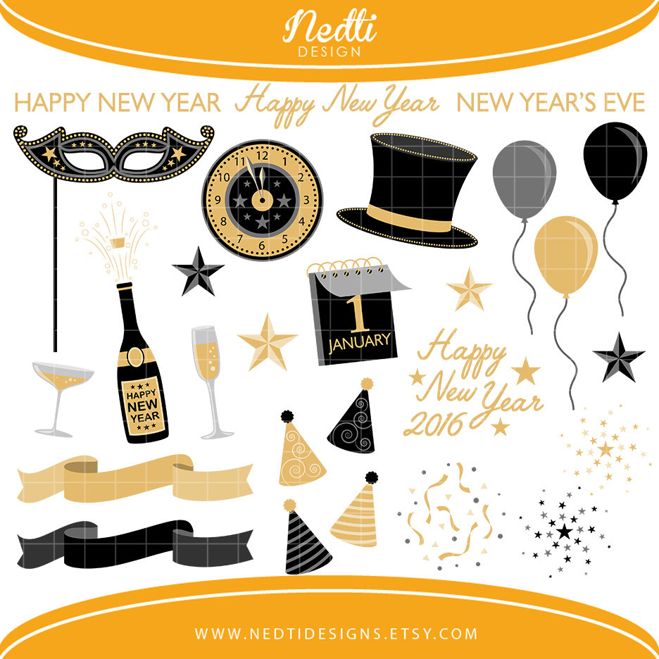 black gold new year clip art 2019 new year images black gold new year clip art 2019 new