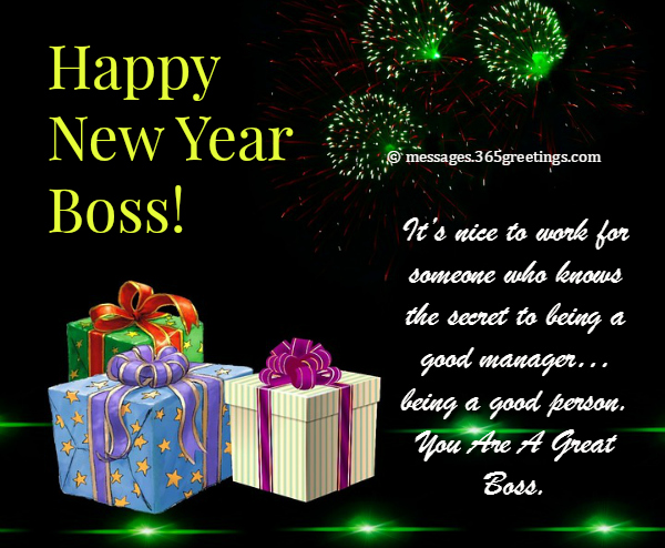 boss new year messages