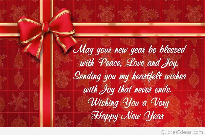 business new year saying