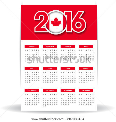 canada new year banner