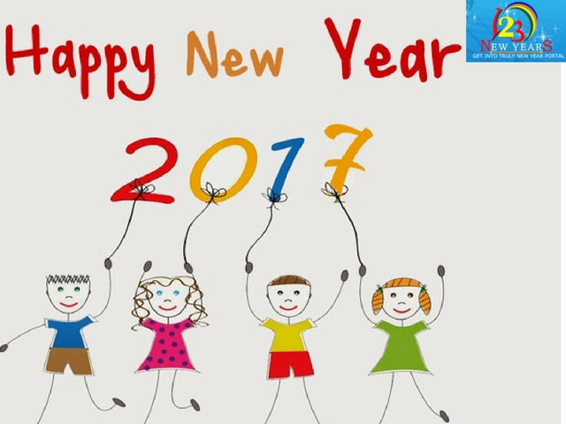 child new year cards