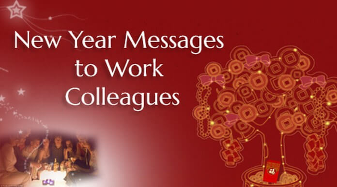 colleague new year messages