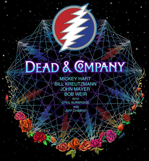 dead and company new year poster
