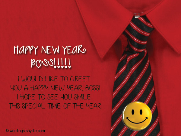 employee new year messages