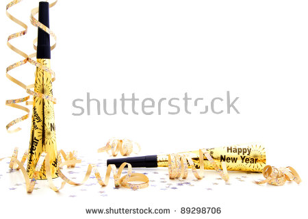 eyeglasses new year border