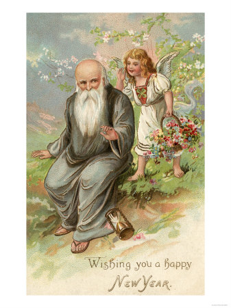 father new year cards