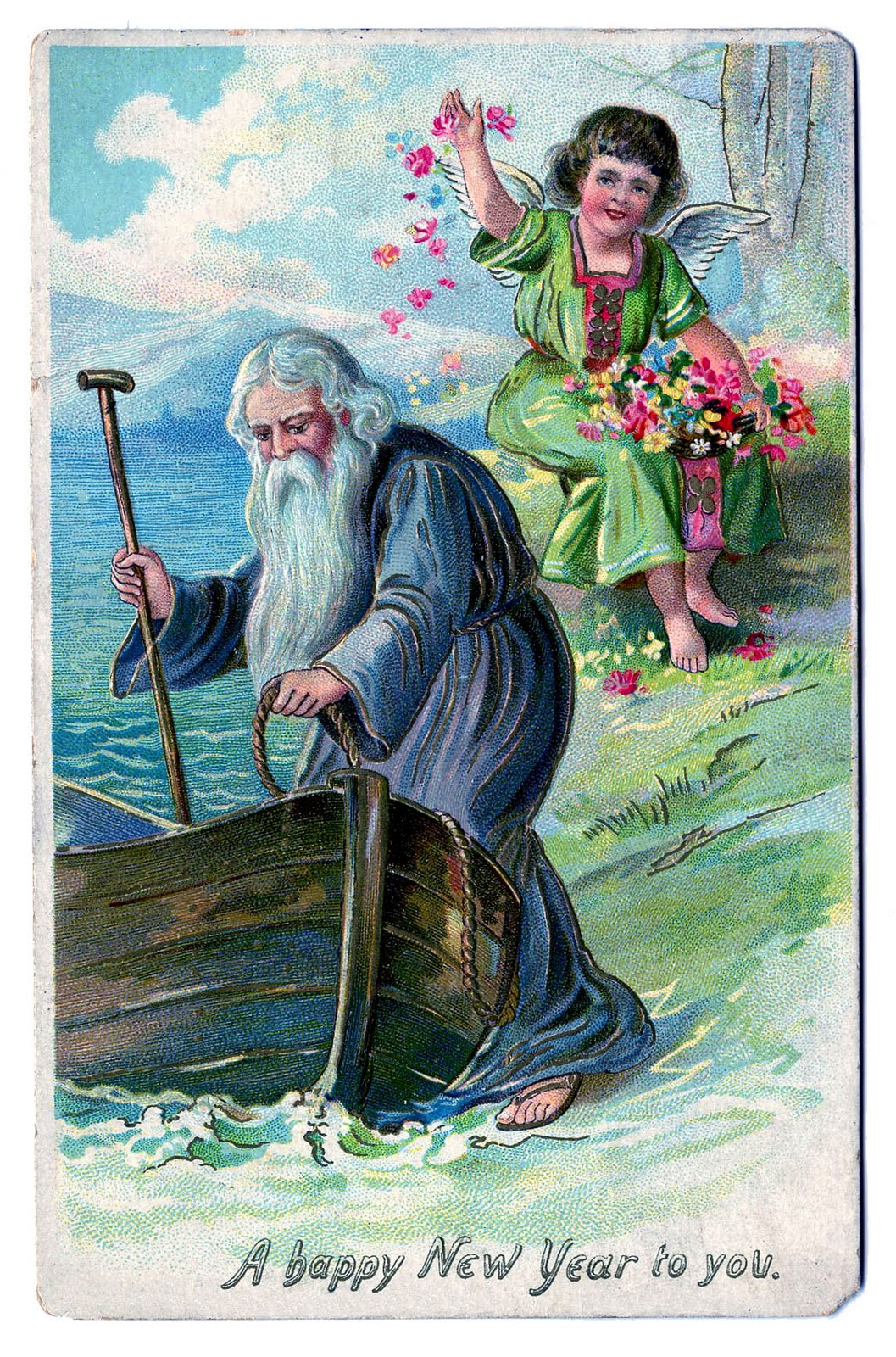 father time new year clip art