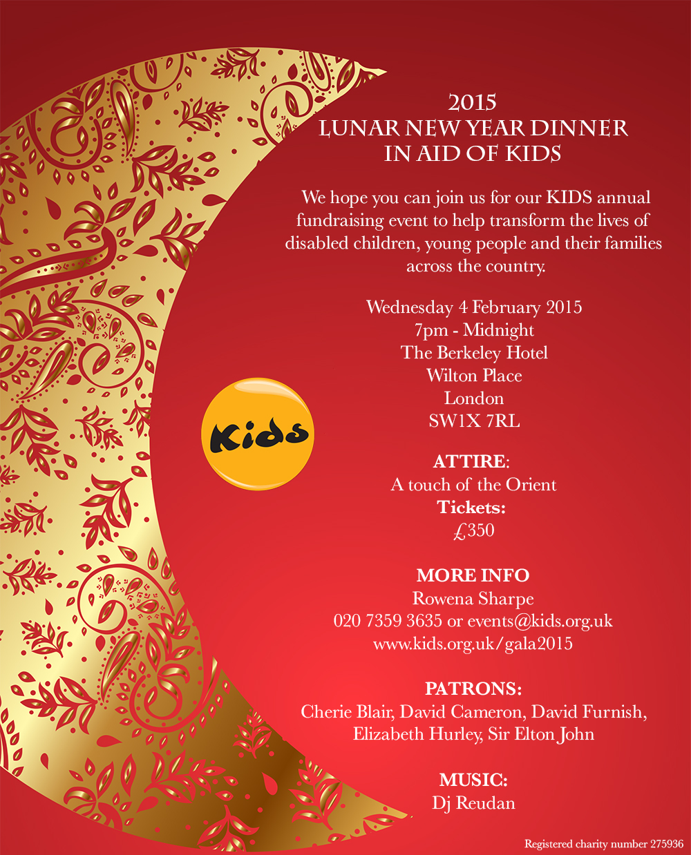 gala new year invitation