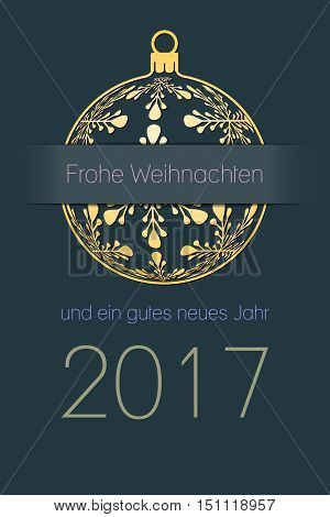 german new year cards