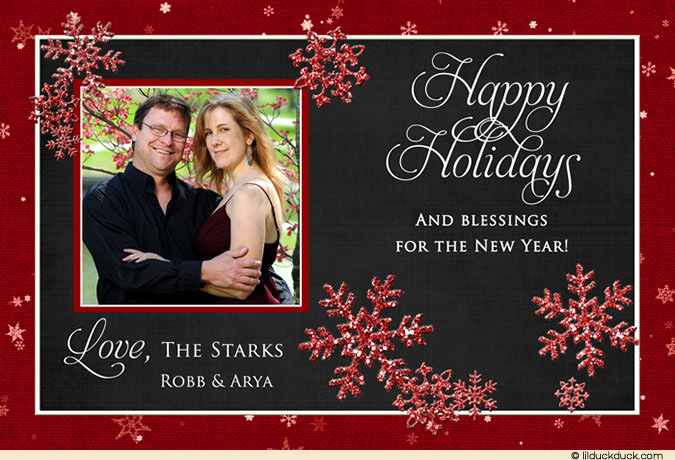 happy holiday new year cards