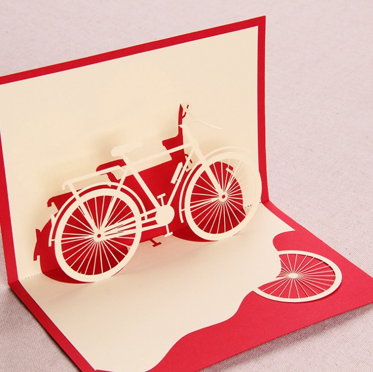 laser cut new year cards