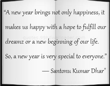 life new year saying