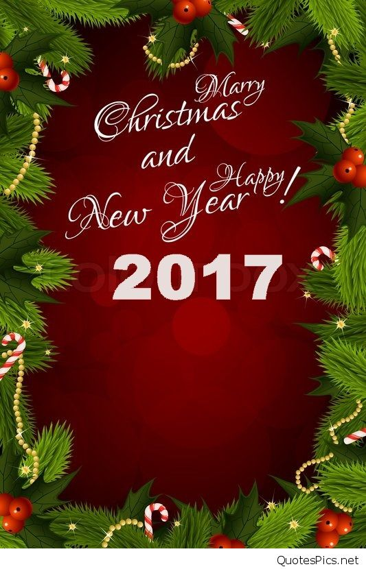 merry xmas new year cards