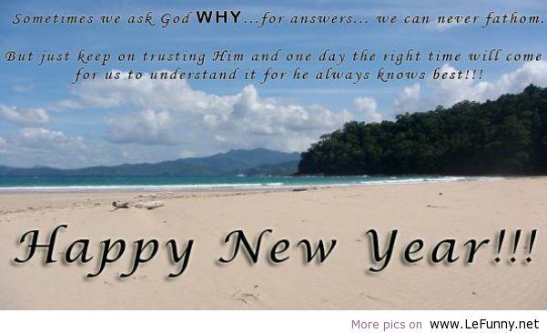 nature new year saying