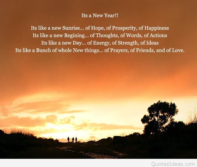 new beginning new year messages