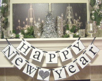 new years eve new year banner