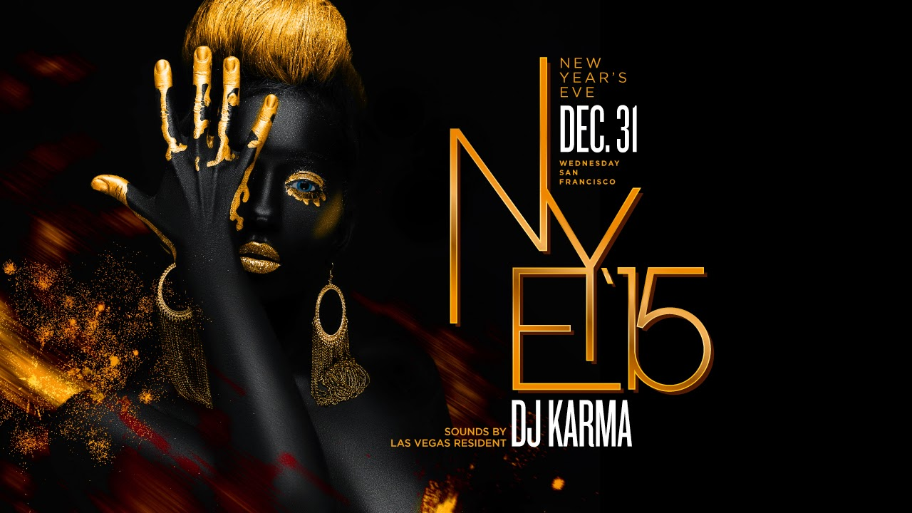 new years eve party new year poster