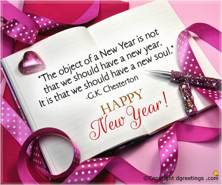 old new year messages