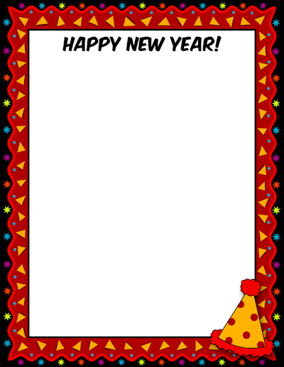 page new year border