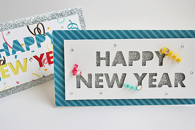 paper new year cards