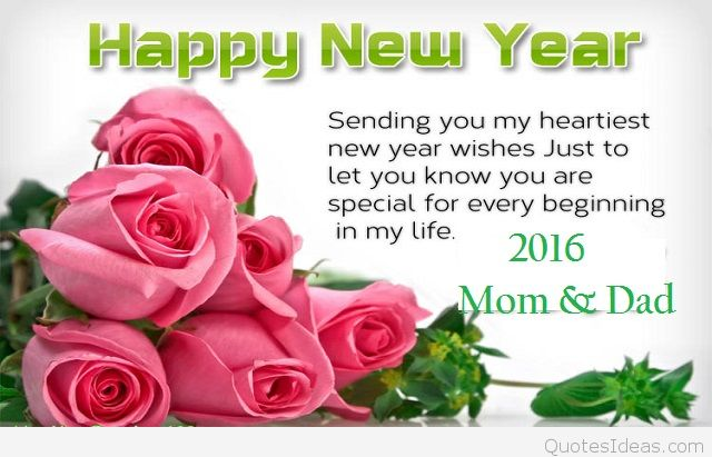 parent new year messages