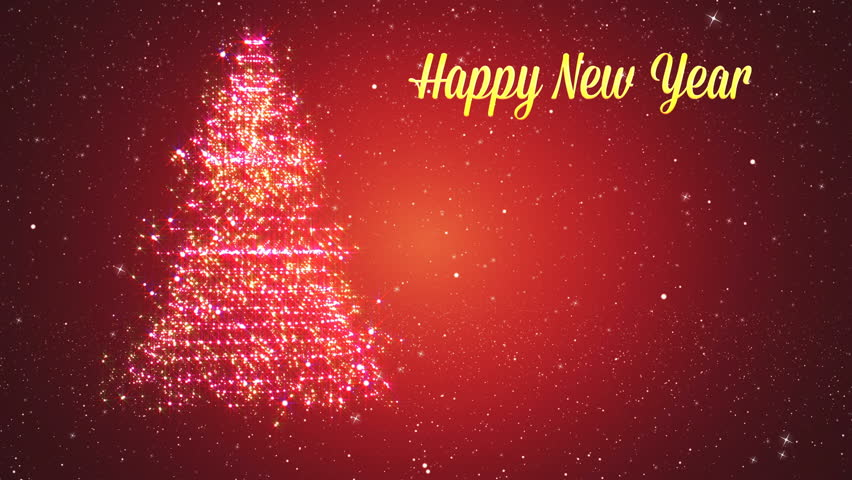 particle new year backgrounds