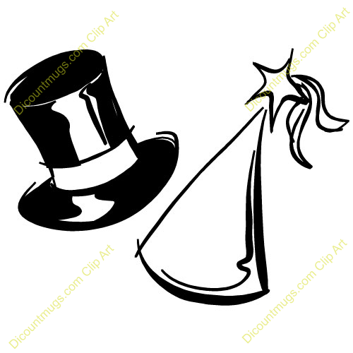 Party Hat New Year Clip Art 2019 New Year Images