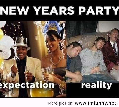 party new year saying