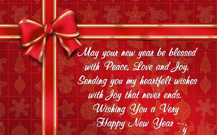 peace love new year messages