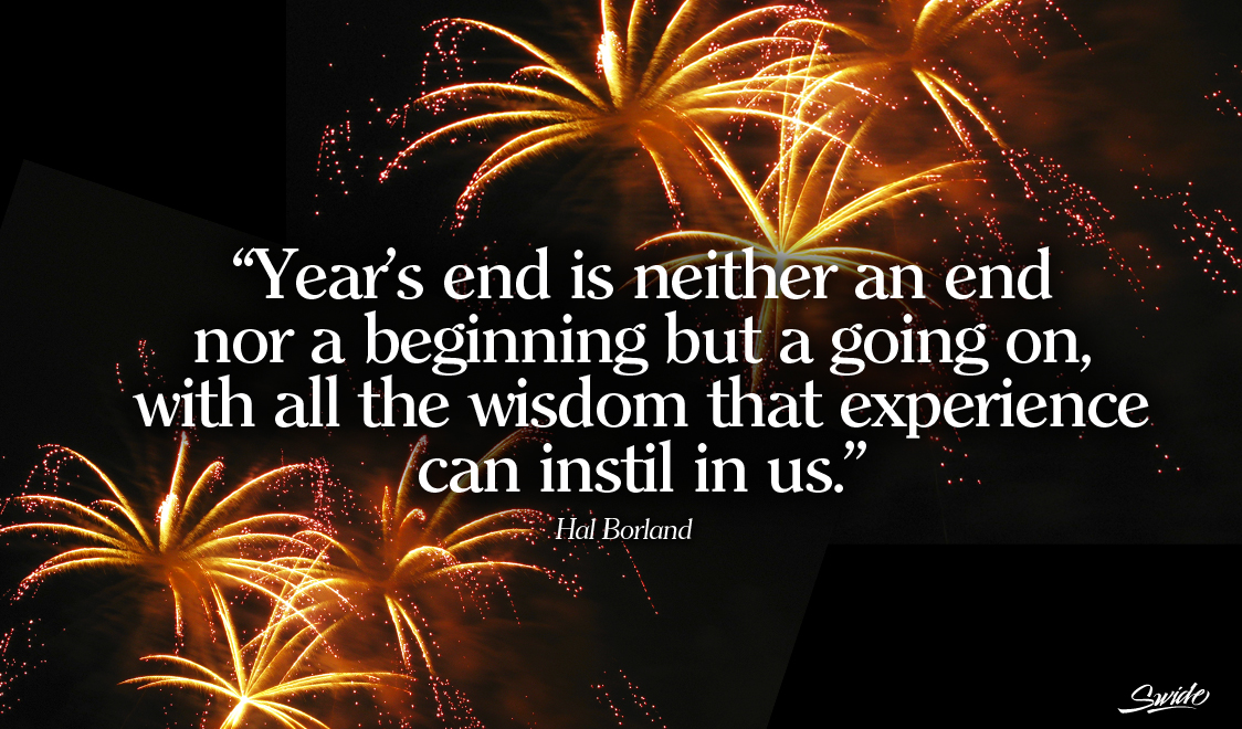 philosophical new year saying