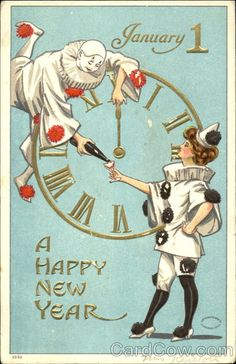 postal new year cards