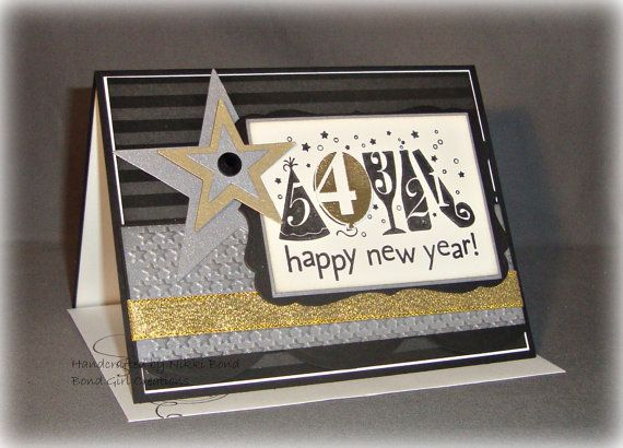 scrapbook new year cards