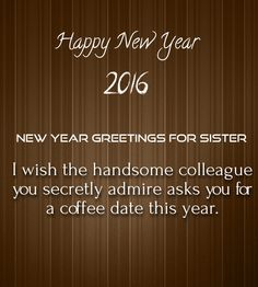 sister new year messages