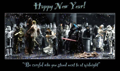 star wars new year cards