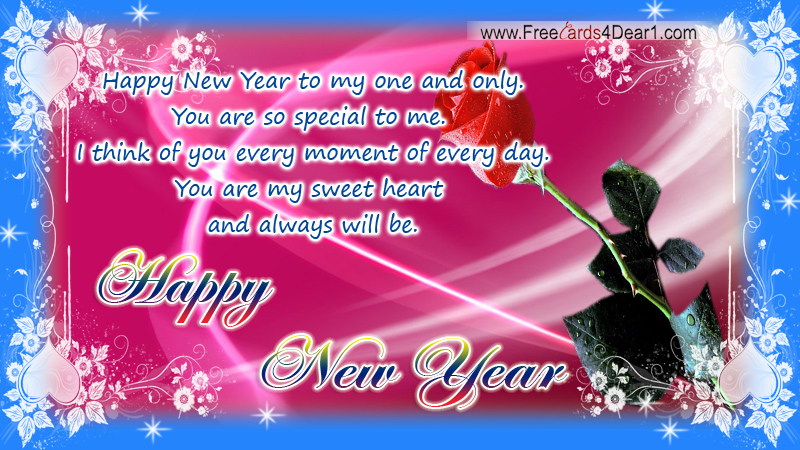 sweet new year greetings