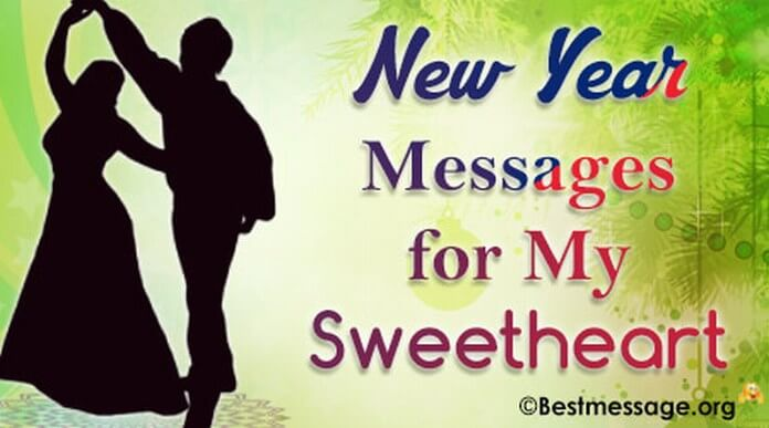 sweetheart new year messages