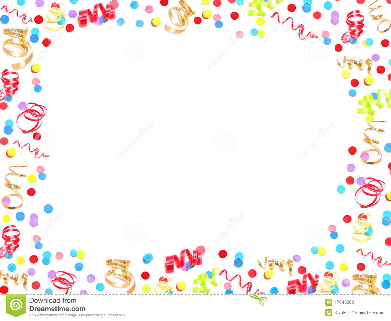 theme new year border