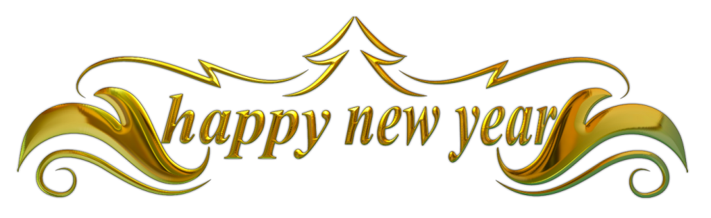 transparent new year banner