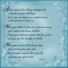 uplifting new year saying