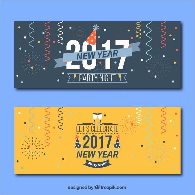 website new year banner